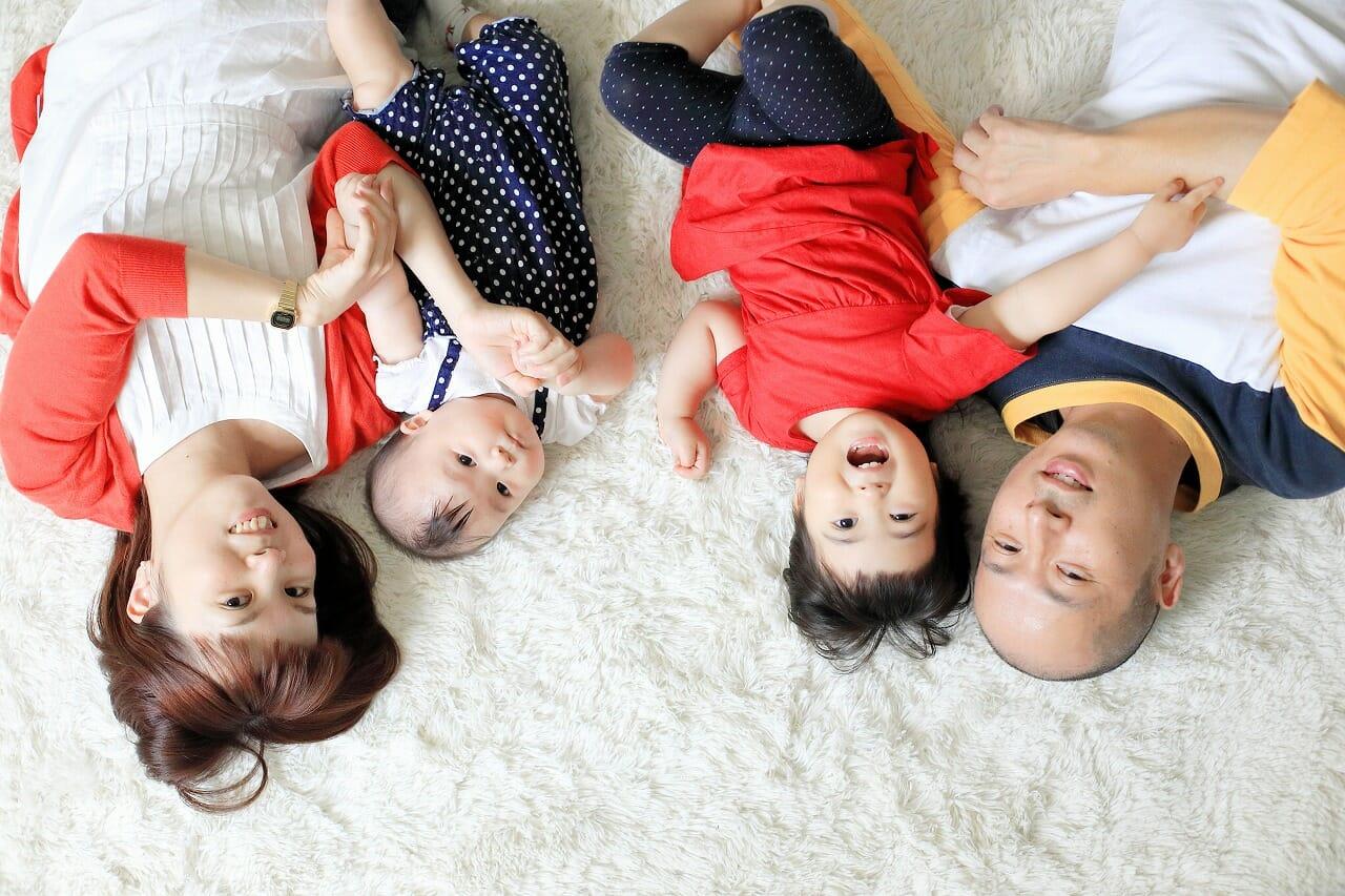 家族写真,子供写真,記念写真