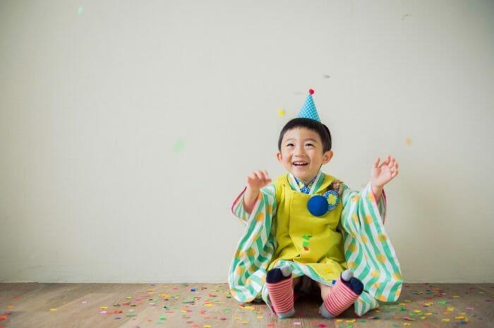 七五三,七五三撮影,3歳,男の子被布,兄弟写真