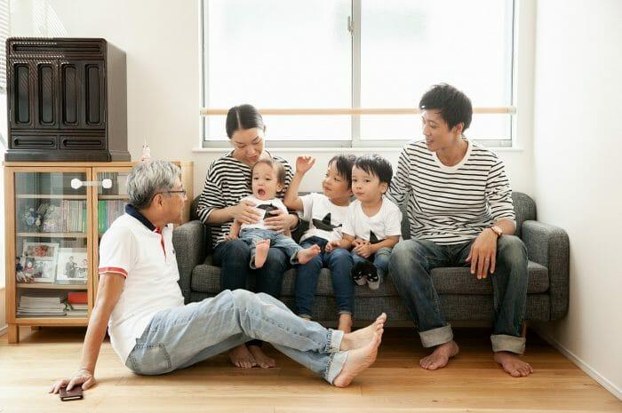 新築撮影,記念写真,家族写真,三兄弟,出張撮影