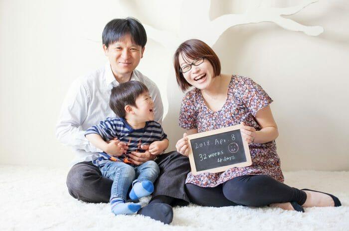 家族写真,マタニティフォト,お兄ちゃん