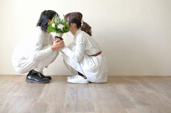 カップル写真,東京スタジオ,スタジオ写真,カジュアルフォトウエディング