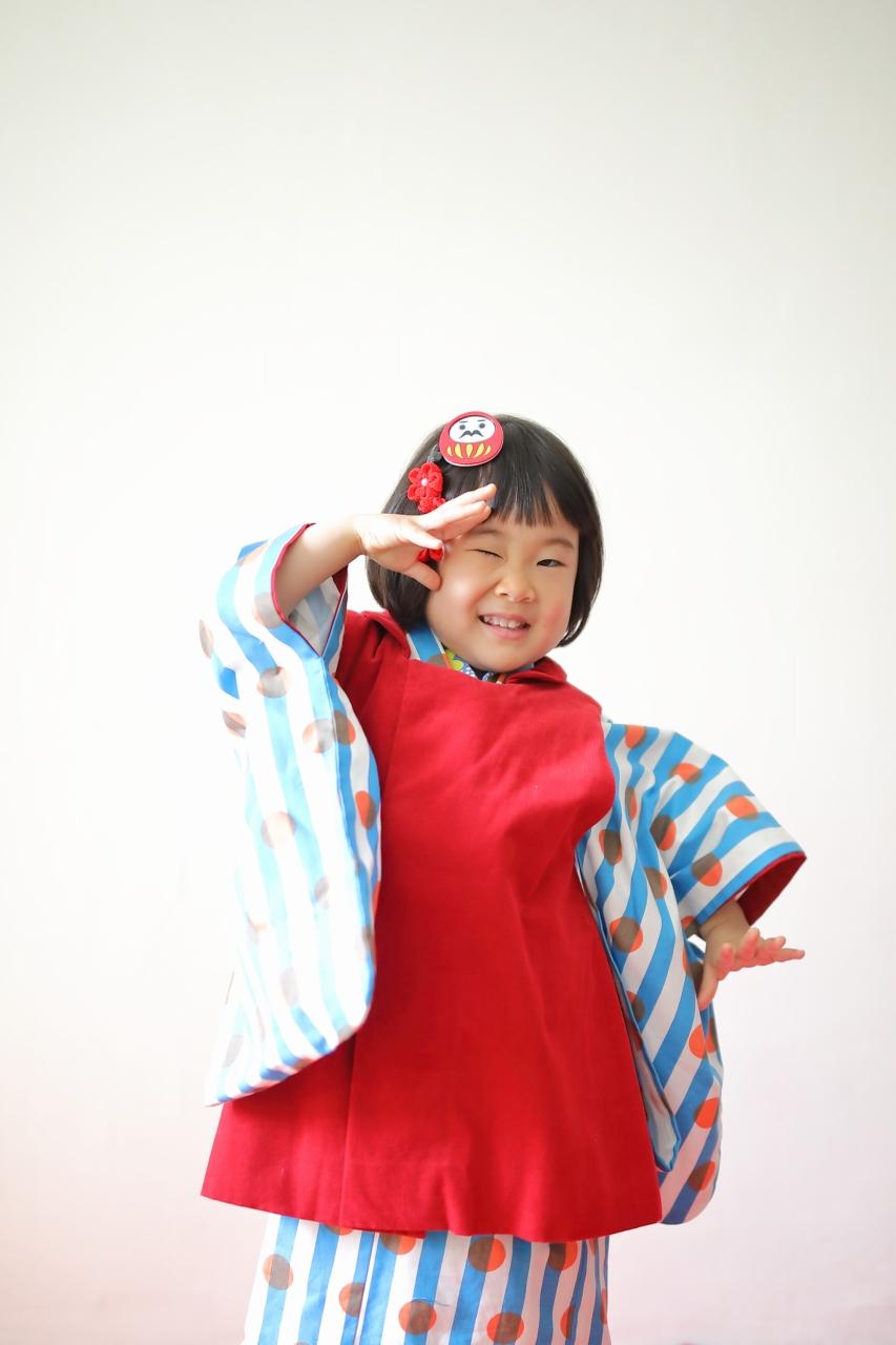 七五三撮影,3歳七五三,3歳女子,東京スタジオ