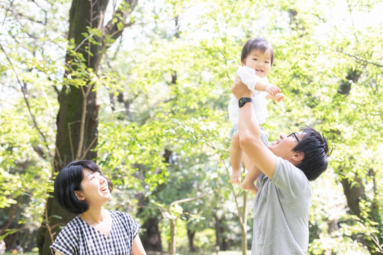 代々木公園でのプチロケフォトが人気です