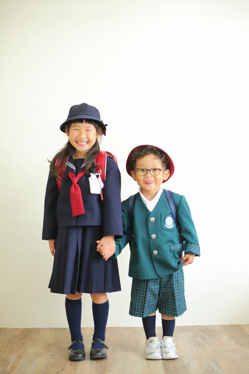 入園記念写真,入学記念写真