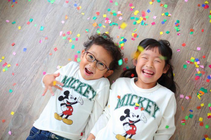 姉弟記念写真,7歳記念写真,4歳記念写真,家族写真,スタジオ,写真館