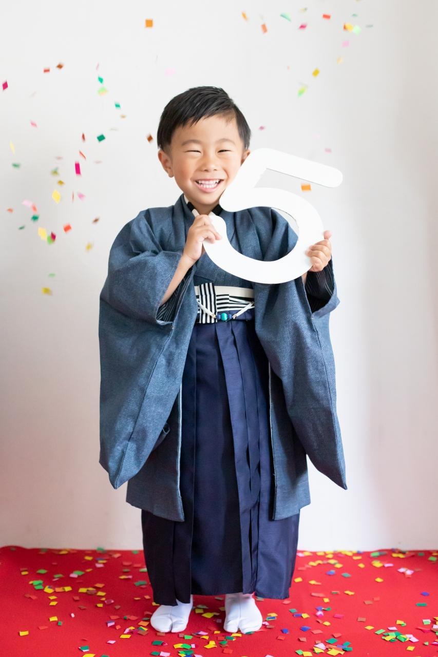 5歳七五三,七五三5歳,羽織袴,家族写真,東京スタジオ5歳七五三,七五三5歳,羽織袴,家族写真,東京スタジオ