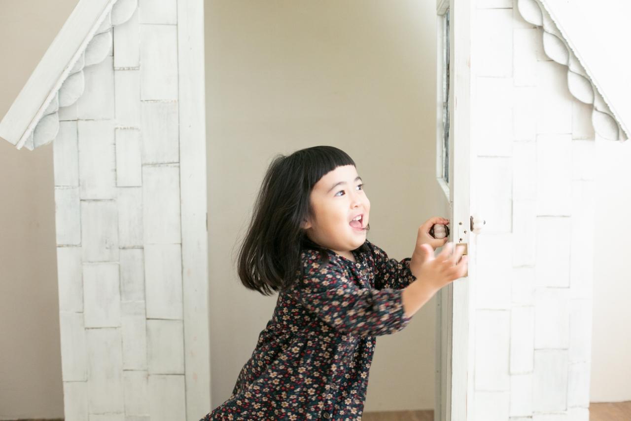 4歳子供写真,家族写真,スタジオ撮影