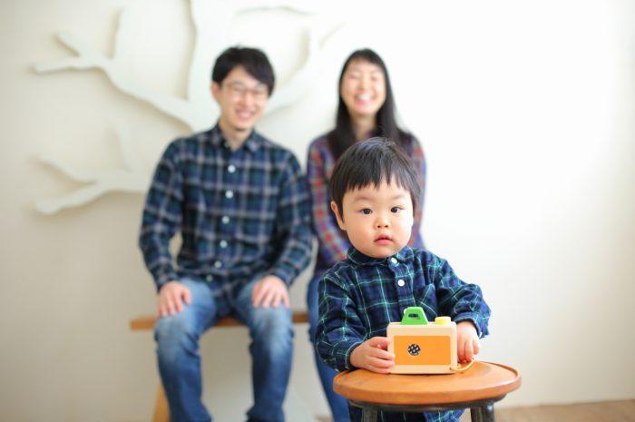 2歳男の子,2歳記念撮影,2歳記念写真,家族写真,家族撮影