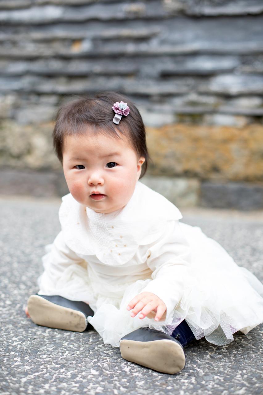 0歳女の子の出張撮影