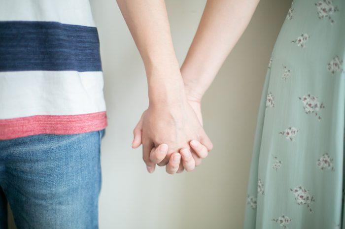 ご入籍記念撮影,カップル撮影,さわやかカップル,ご入籍直前のカップル撮影,手つなぎショット