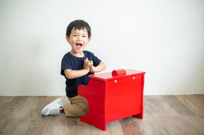 家族撮影 2歳男の子