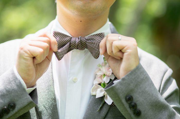 フォトウエディング,前撮り,持ち込み衣装,持ち込みドレス,持ち込みウエディングドレス,蝶ネクタイ