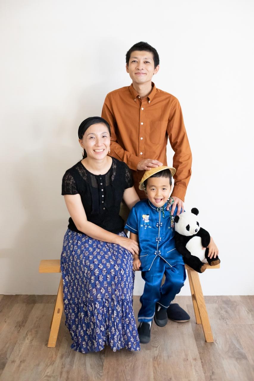 5歳七五三撮影,5歳七五三,かっこかわいい,大好きに囲まれる753,チャイナ服で記念撮影