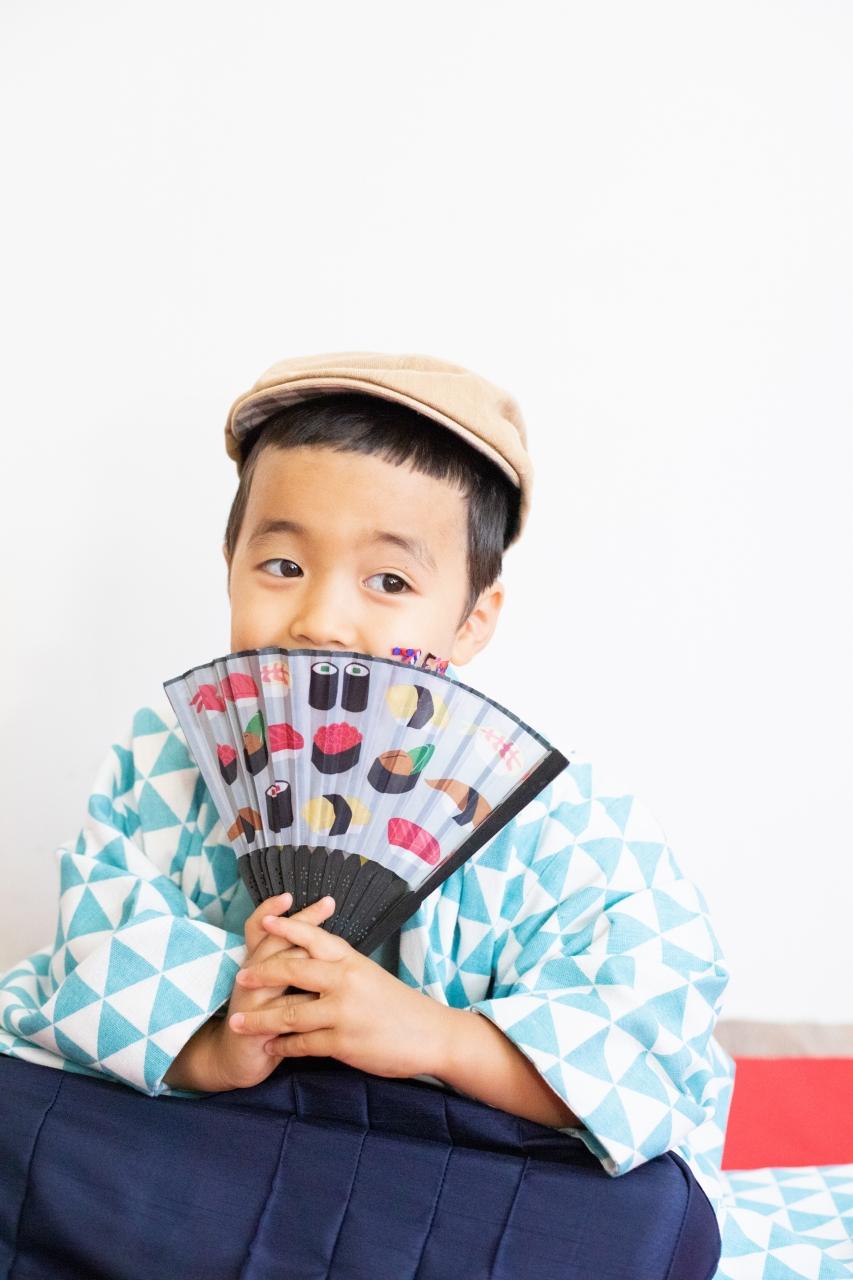 5歳七五三撮影,5歳七五三,かっこかわいい,お寿司センス