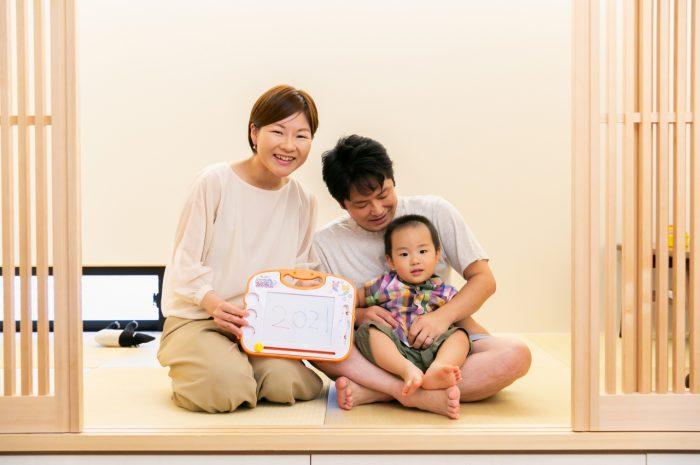 出張撮影,2歳男の子撮影,2歳誕生日記念撮影,自宅でリラックス撮影,家族写真