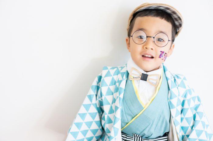 5歳七五三撮影,5歳七五三,かっこかわいい,753家族写真,5歳眼鏡