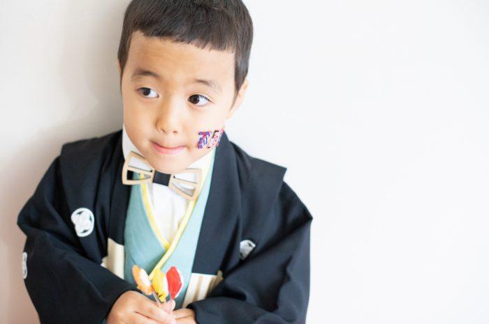 5歳七五三撮影,5歳七五三,かっこかわいい,753家族写真,お寿司飴