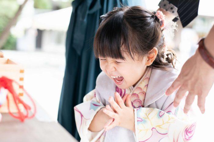 伊勢山皇大神宮で七五三出張撮影,3歳七五三,お参り風景撮影