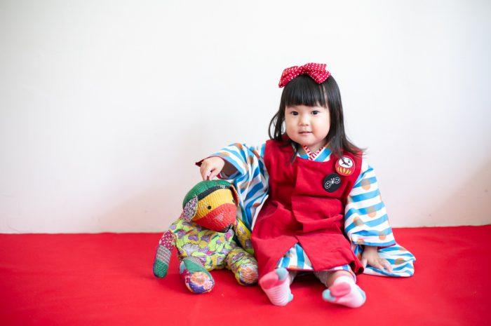 3歳七五三撮影,3歳女子,姉妹撮影,渋谷スタジオ撮影