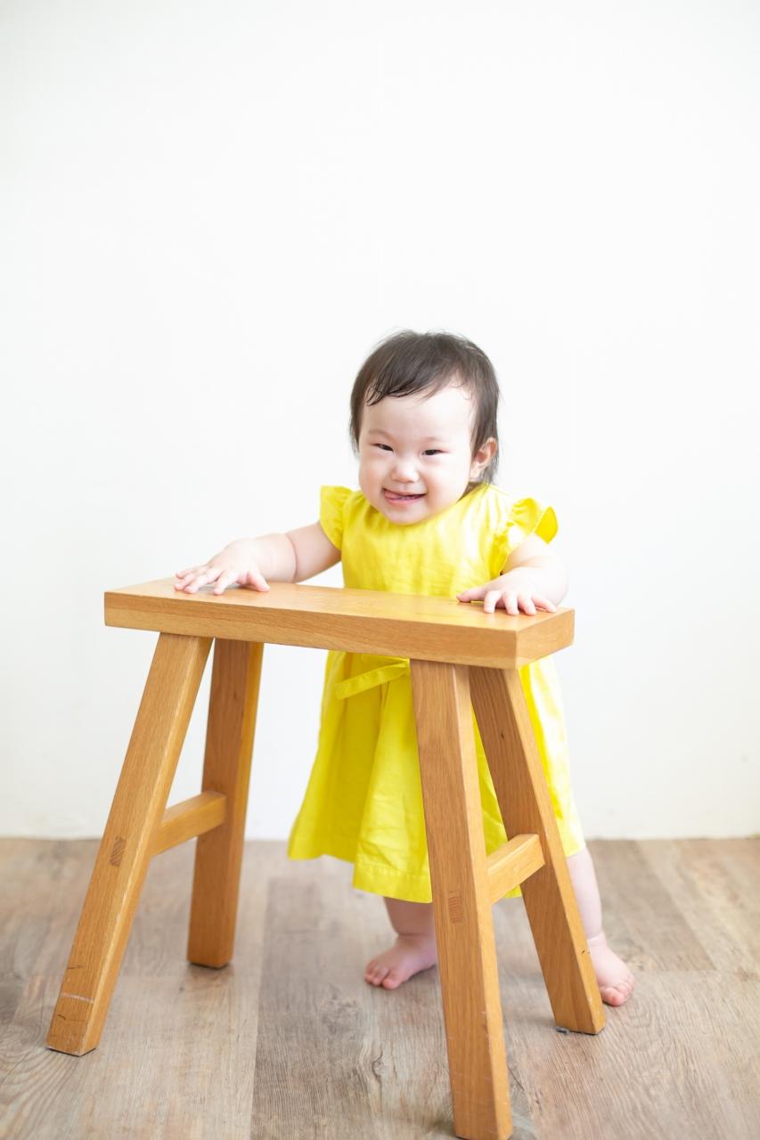5歳七五三ともうすぐ1歳の兄妹撮影,家族撮影,家族写真,東京スタジオ,あんよが上手