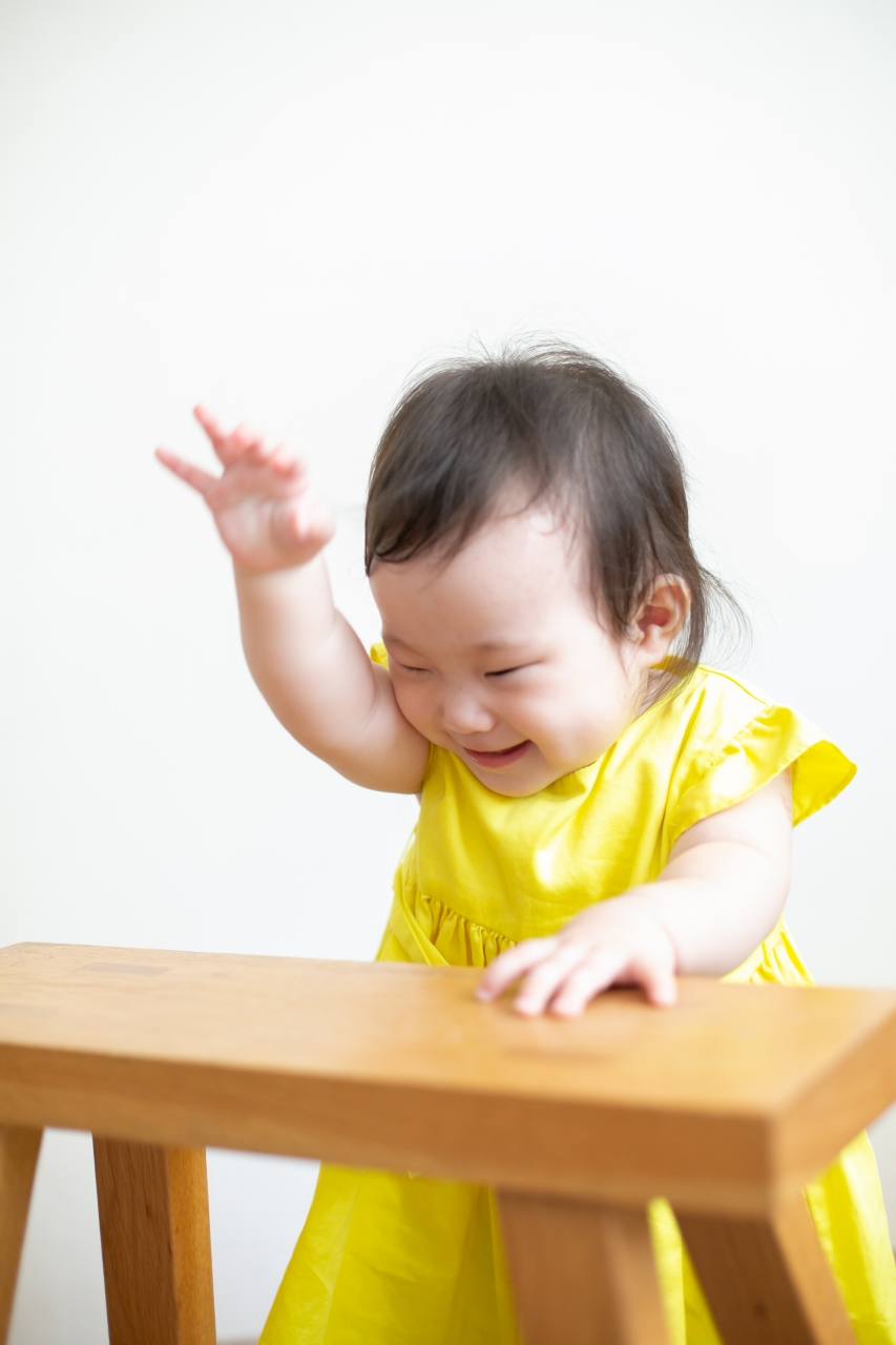5歳七五三ともうすぐ1歳の兄妹撮影,家族撮影,家族写真,東京スタジオ,はーい!