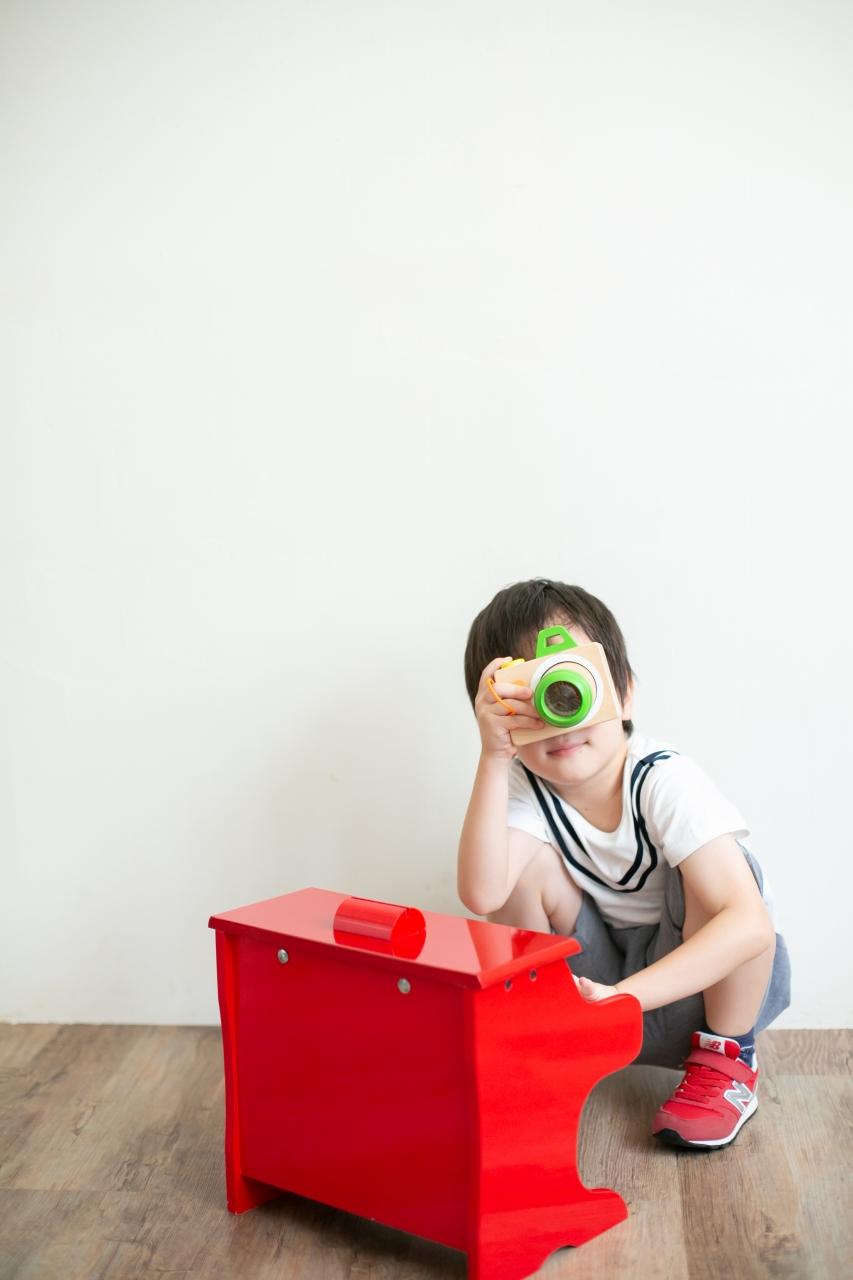 5歳七五三ともうすぐ1歳の兄妹撮影,家族撮影,家族写真,東京スタジオ,マイカメラ