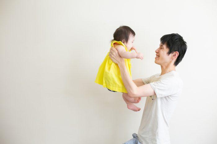 5歳七五三ともうすぐ1歳の兄妹撮影,家族撮影,家族写真,東京スタジオ,パパと一緒
