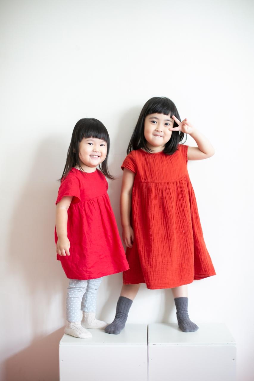 3歳七五三撮影,3歳女子,姉妹撮影,2ショット
