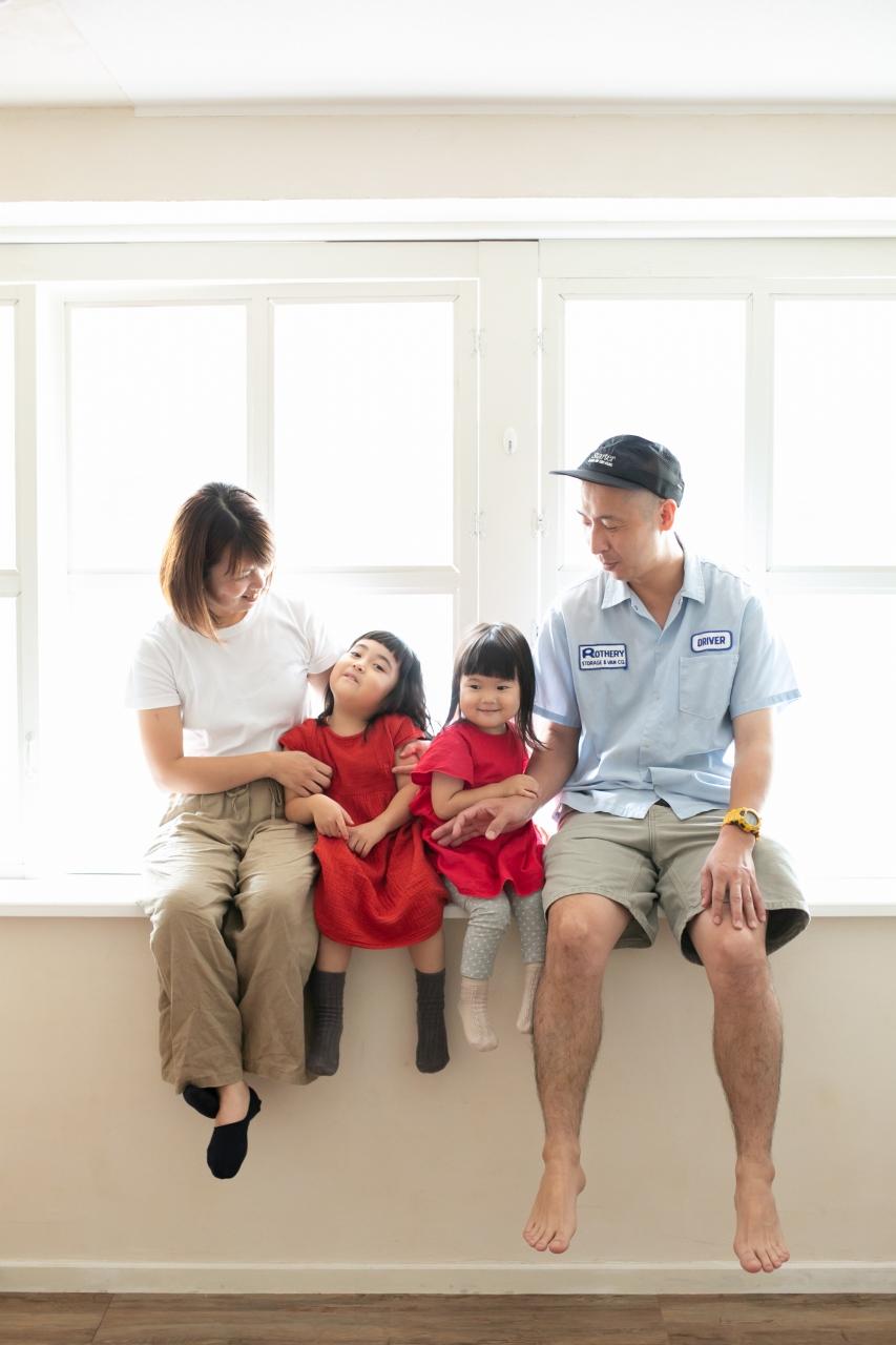 3歳七五三撮影,3歳女子,姉妹撮影,恒例撮影,家族写真撮影