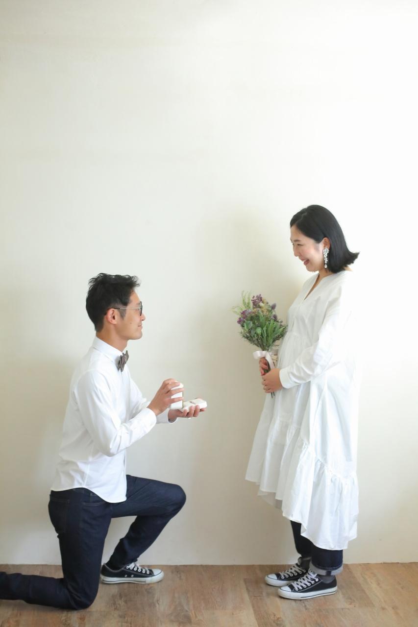 結婚10周年記念,家族写真撮影,改めてのプロポーズ