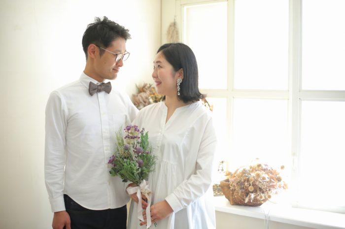 結婚10周年記念,家族写真撮影,夫婦