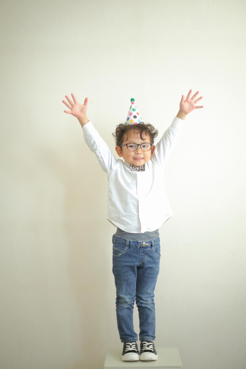 結婚10周年記念,家族写真撮影,5歳男の子誕生日