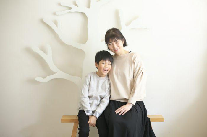 8歳男の子記念撮影,スタジオ,渋谷スタジオ,富ヶ谷スタジオ,ママと一緒