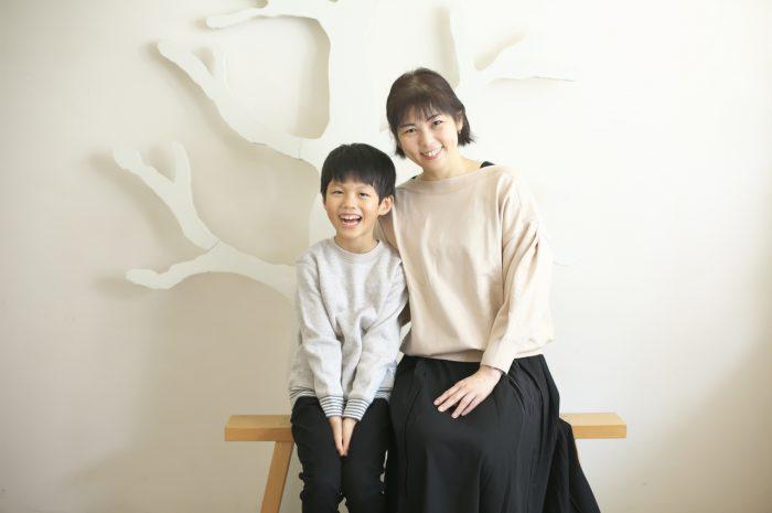 8歳男の子記念撮影,スタジオ,渋谷スタジオ,富ヶ谷スタジオ,ママと