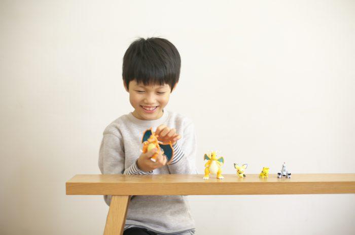 8歳男の子誕生日記念撮影