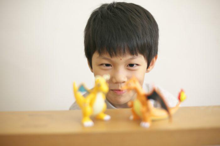 8歳男の子記念撮影,スタジオ,渋谷スタジオ,富ヶ谷スタジオ,8歳誕生日記念,ポケモン