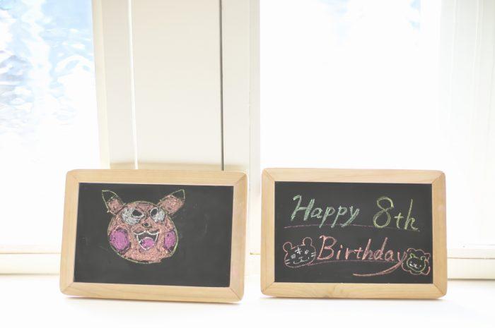 8歳男の子記念撮影,スタジオ,渋谷スタジオ,富ヶ谷スタジオ,8歳誕生日記念,お絵描き