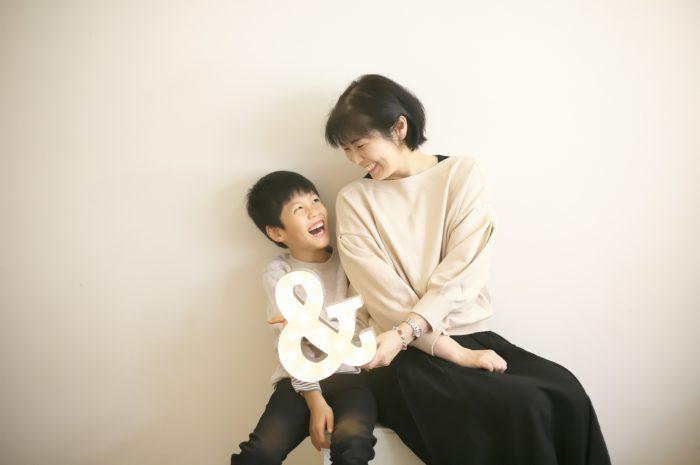 8歳男の子記念撮影,スタジオ,渋谷スタジオ,富ヶ谷スタジオ,仲良し