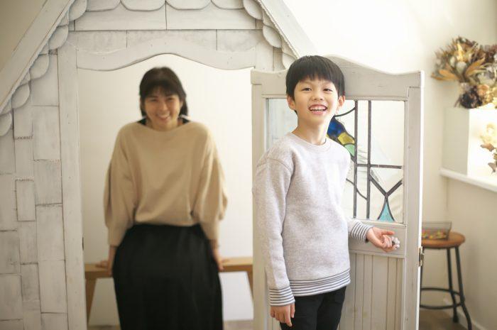 8歳男の子記念撮影,スタジオ,渋谷スタジオ,富ヶ谷スタジオ,白いおうち
