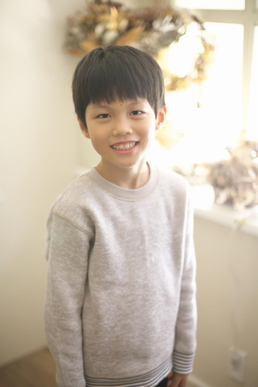 8歳男の子記念撮影,スタジオ,渋谷スタジオ,富ヶ谷スタジオ,ポートレート