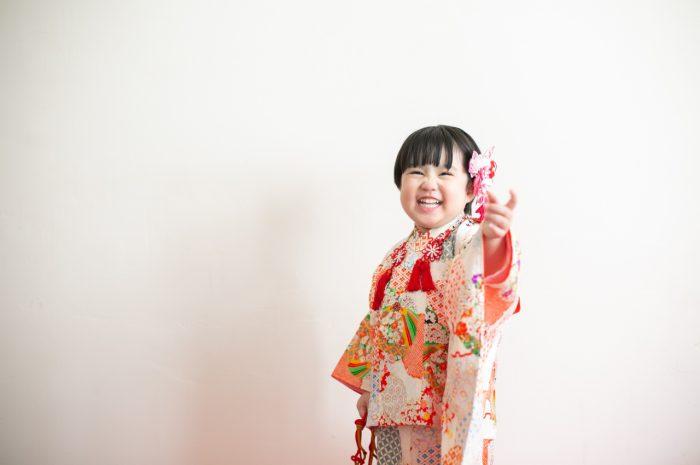3歳女の子七五三撮影,753,持ち込み着物,被布