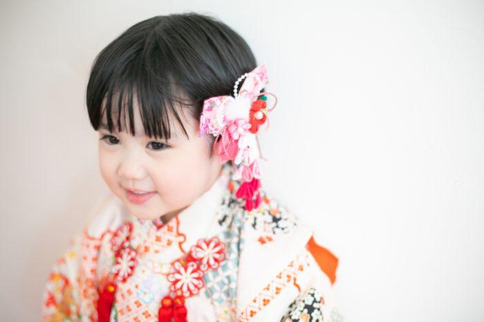 3歳女の子七五三撮影,753,持ち込み着物,3才