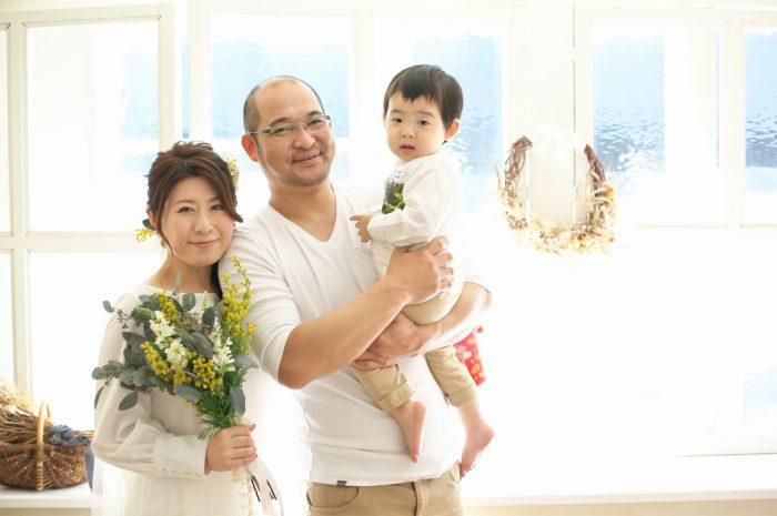 カジュアルフォトウエディング,家族写真