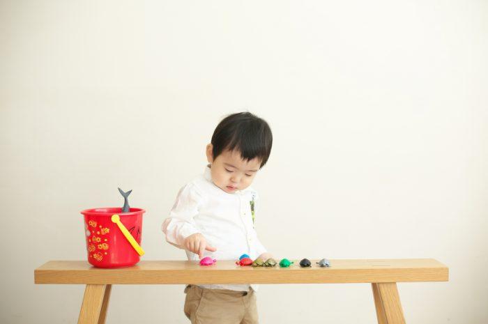 2歳男の子誕生日記念撮影,スタジオ撮影,渋谷スタジオ