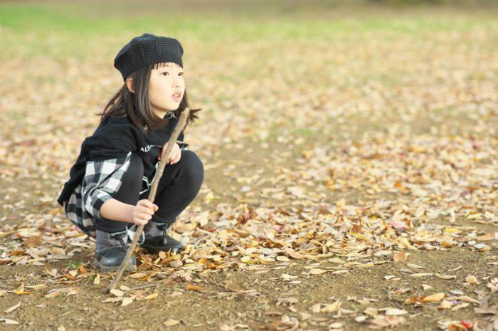 秋の家族写真,ロケーションフォト,ロケフォト,お姉ちゃん