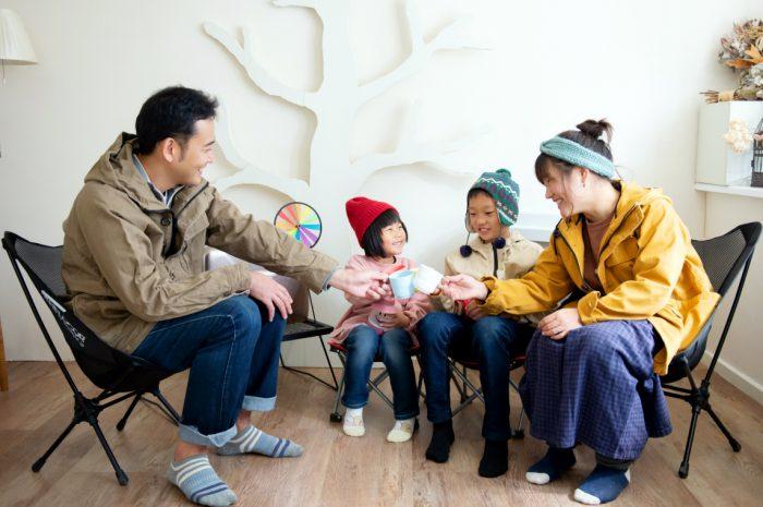 家族写真撮影,渋谷スタジオ,みんなで乾杯