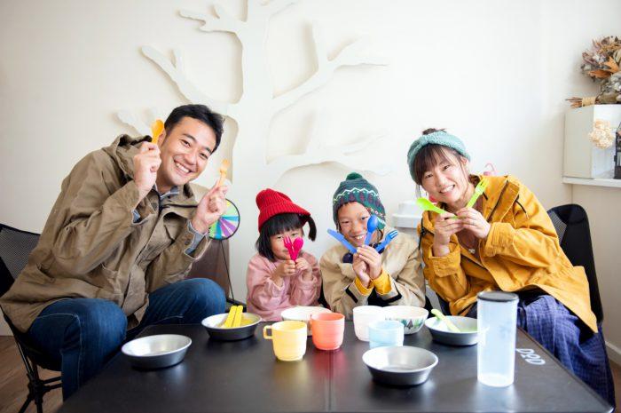 家族写真撮影,渋谷スタジオ,キャンプ