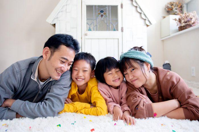 家族写真撮影,渋谷スタジオ,ぎゅぎゅぎゅ