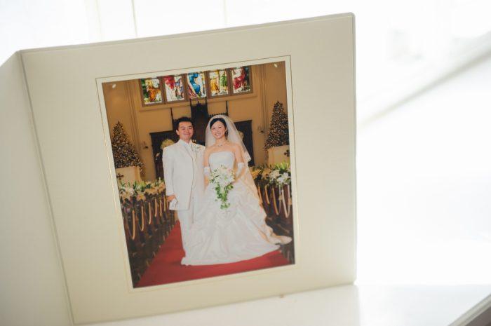 結婚式の写真,10年前