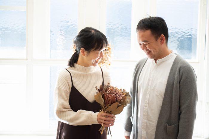 結婚10周年記念撮影